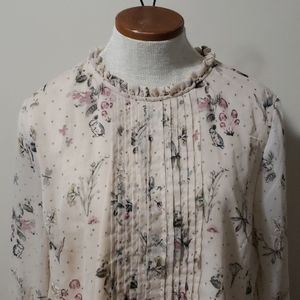 Quaint Fable Blouse with bell sleeves